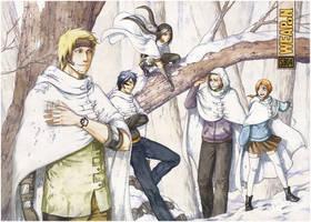 Winter woods by kunoichi-san