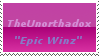 TheUnorthadox Stamp by thesonicsword