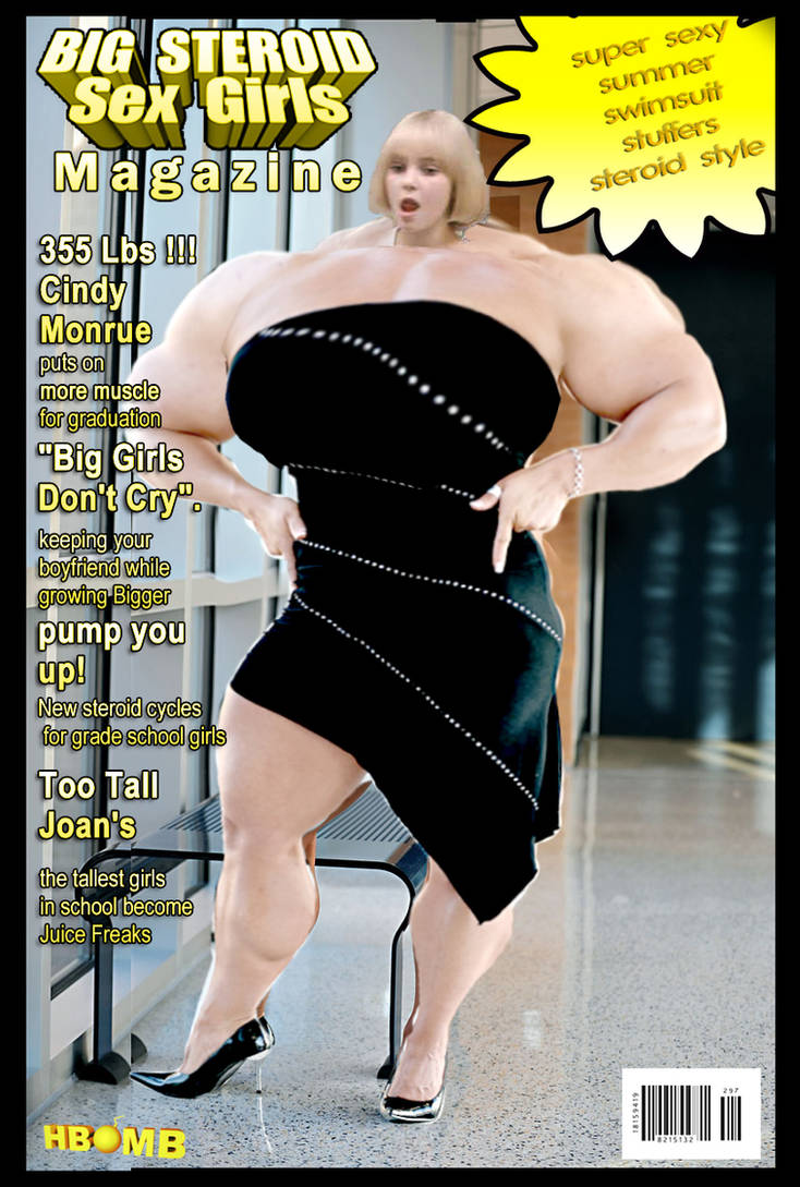 BIG STEROID MAGAZINE!!! by hbomby2k