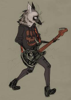 [insert furry pun on rock n roll here]