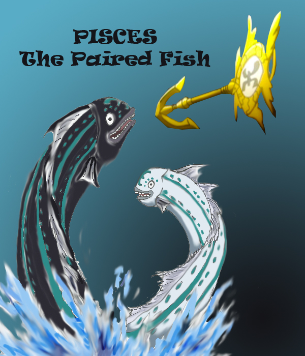 Pisces the paired fish by leonkhoo95 on deviantart for 99 5 the fish