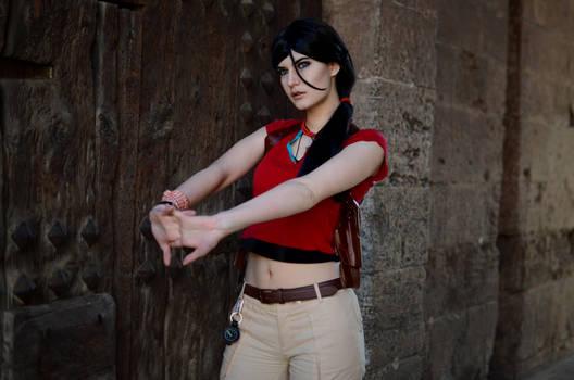 Chloe Frazer cosplay