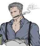 CAPTAIN SMOKER - ONE PIECE