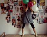 balonowe mysli.