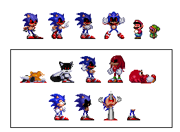The types of Sonic exe + Announcement by SFG1235Deviantart