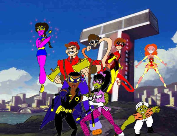 Underground Titans by KiteBoy1