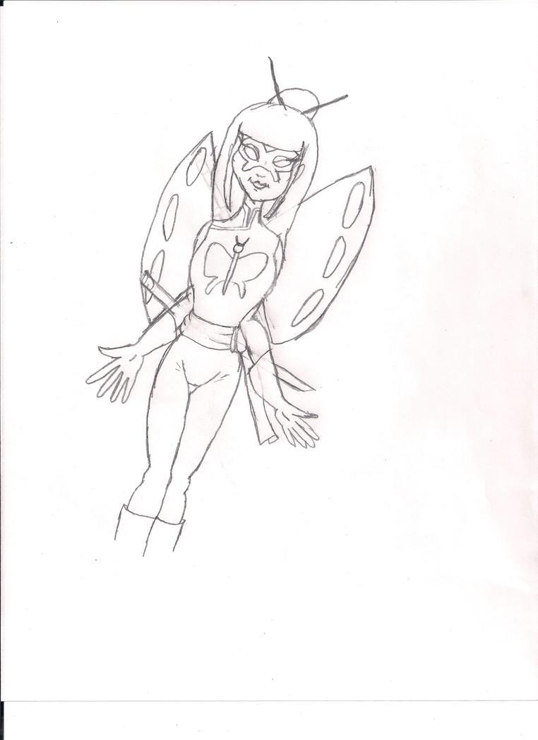 Rough Sketch of Geisha by KiteBoy1