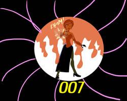 Lashana Lynch as 007