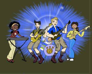 The Wild Kratts bubblgum pop band