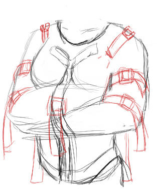 How To Draw A Straight Jacket