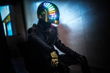 Daft Punk: Guy Manuel cosplay by PhantomLex