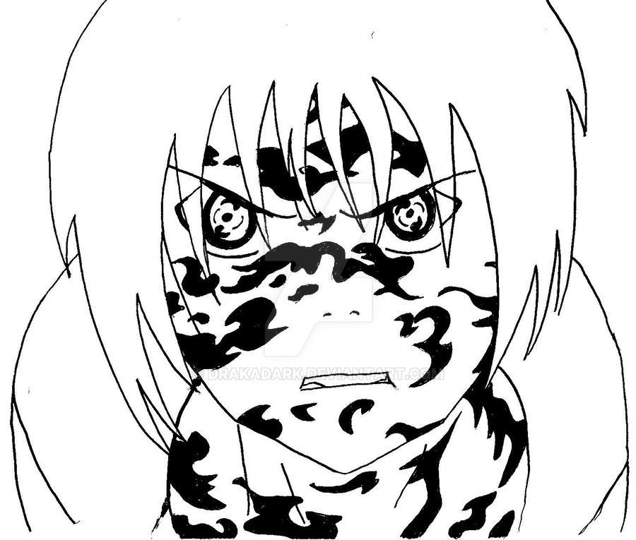 Cursed Seal Sasuke by DrakaDark on DeviantArt