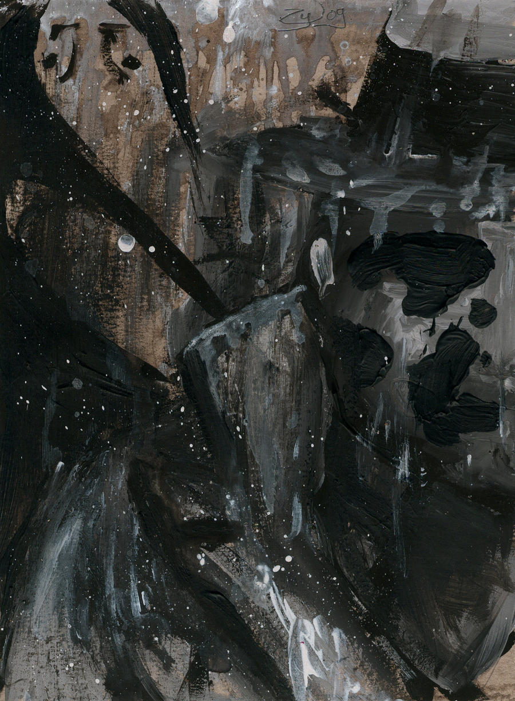 Watchmen: Rorschach by ZylAeryel