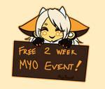 EELUM MYO EVENT - AUGUST -  CLOSED