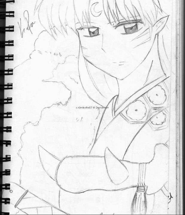 Sesshomaru Drawing by KimikoRei07