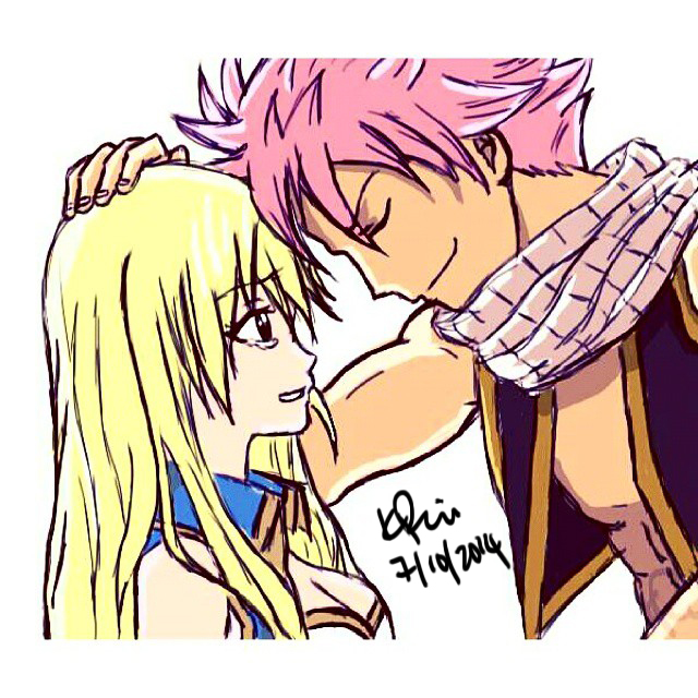 LucyXNatsu Tablet Drawing by KimikoRei07