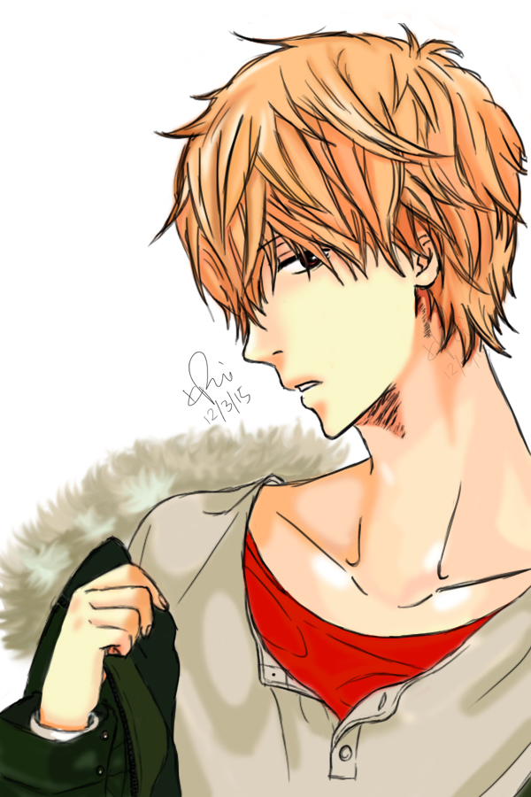 Sata Kyoya Tablet Drawing by KimikoRei07