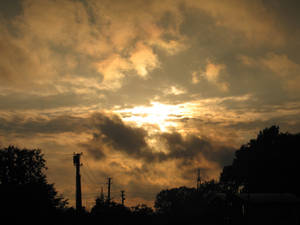 When the sun goes dawn.
