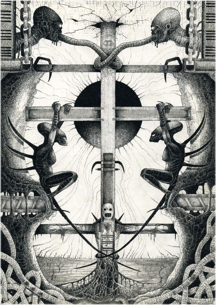 On the Cross by stmayhem93