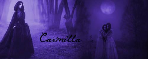 Gothic Carmilla signature by PersephoneDarkQueen