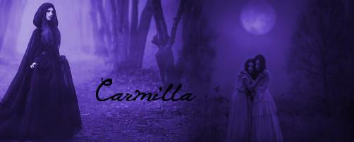 Gothic Carmilla signature