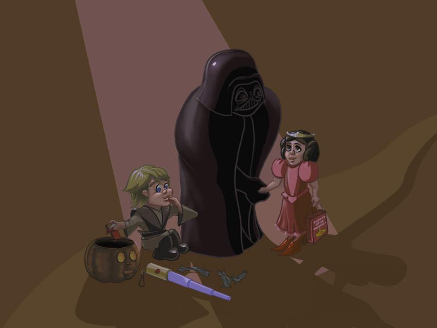 Star Wars: Skywalker Halloween by ShrunkenJedi