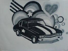 Copic Car by 3lly-ch4n