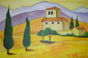 Italian Landscape by 3lly-ch4n