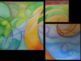 Four Elements by 3lly-ch4n