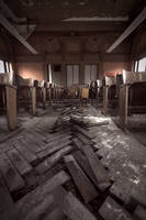 Urbex - Muted auditorium by ReturnFalse