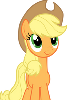 Applejack blissful by LcPsycho