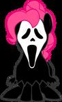 Pinkie Pie Ghost Face