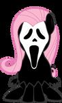 Flutter Shy Ghost Face