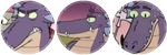 Big Snoot Boyo .:DIVIDER/F2U:. by Spooky-Sp00ks