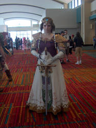 CTcon 2010 - Princess Zelda by philterX