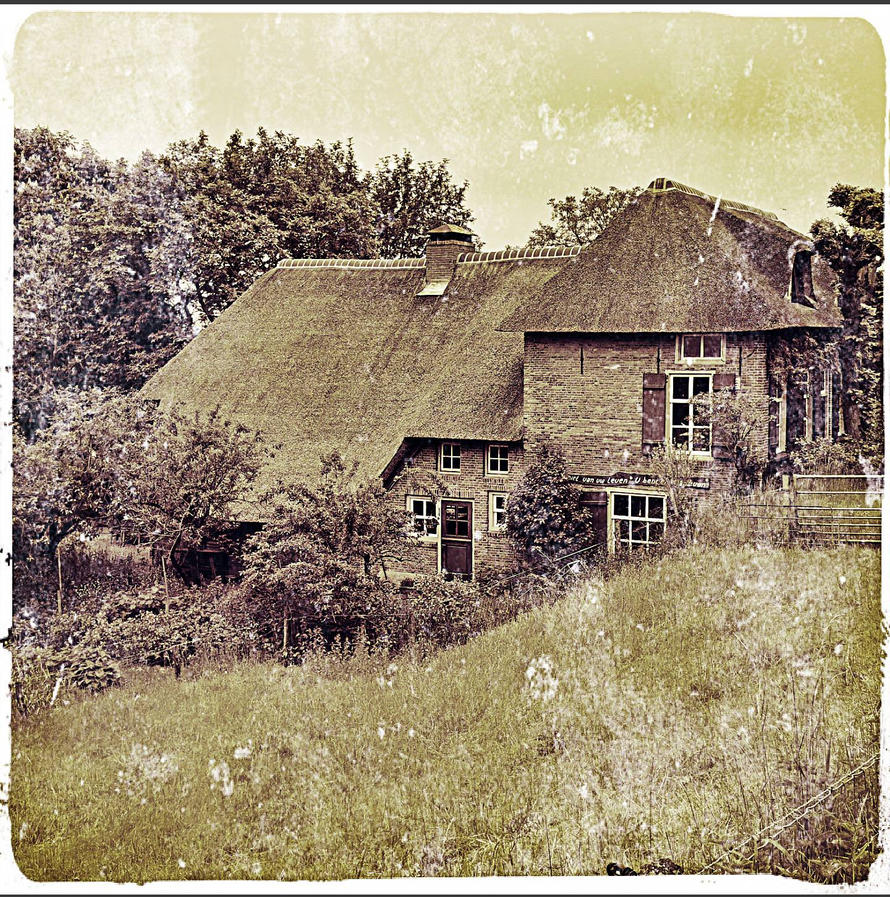 Vintage house  by Revolutionist1