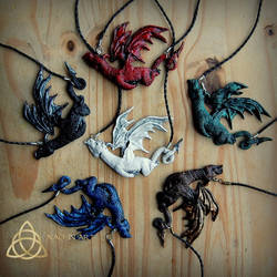Dragon Necklace by Nad-inArt part 2 by Nad-in