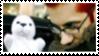 Jhonen Vasquez stamp by erraticjester