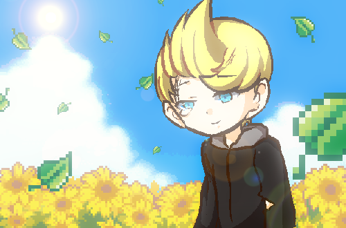 Lucas and Sunflowers by SSBBfangirl1
