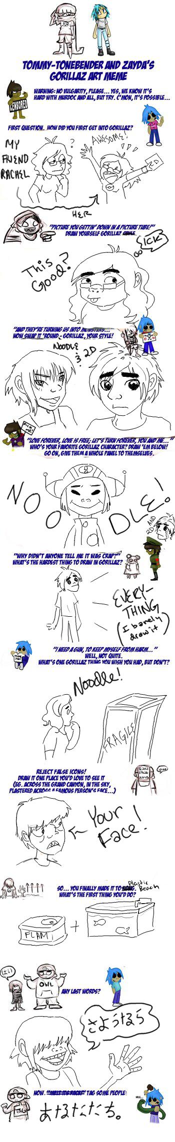 -OV Jane does a Gorillaz Meme- by Imadork007