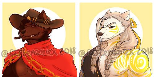 Commissions: Werewolf McHanzo