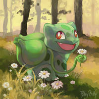 Bulbasaur by RileyKitty