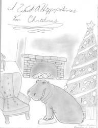 A Hippopatamas for Christmas!