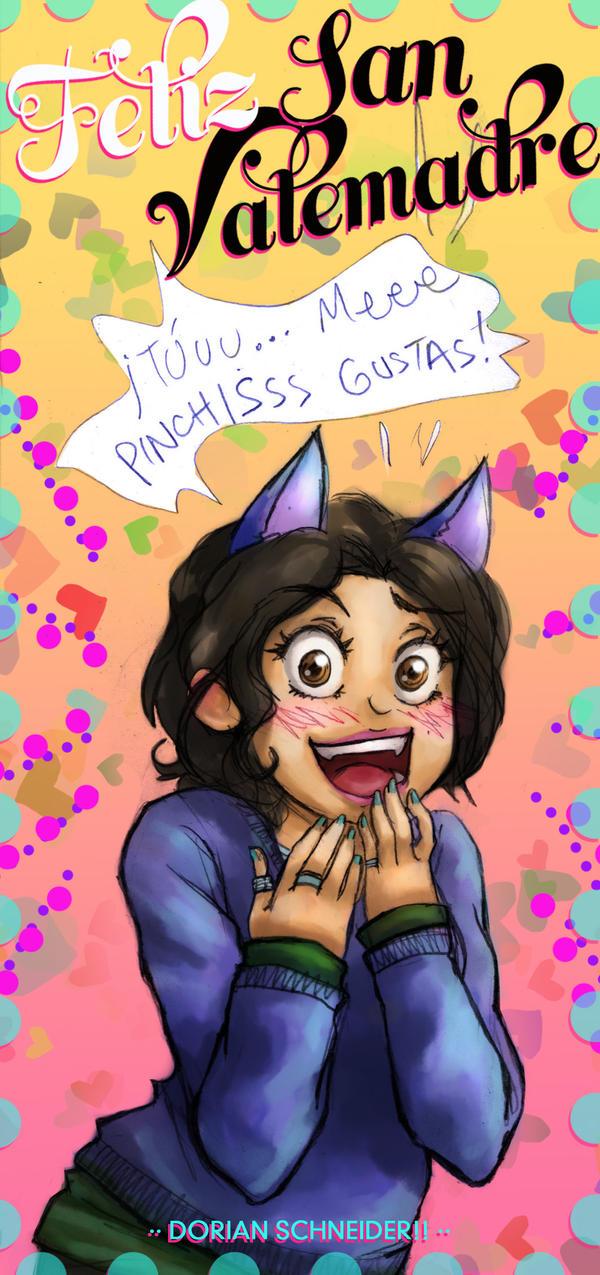 Me gustas! by LadyCat17