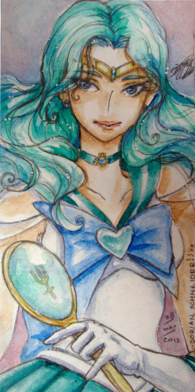 Sailor Neptune by LadyCat17
