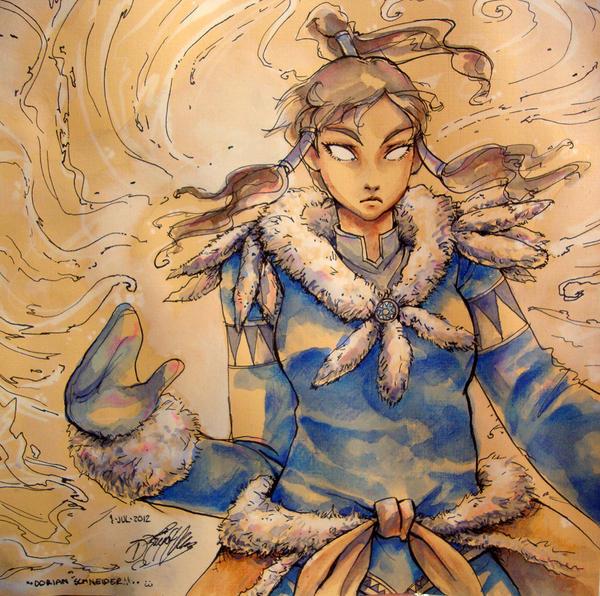 Avatar Korra by LadyCat17