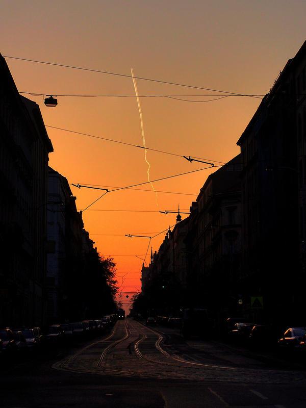 Korunni street by lybar