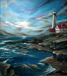 The Lighthouse on the Sea
