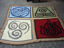 Avatar: The Four Elements by kimby
