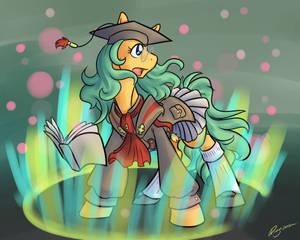 Scholar Pony